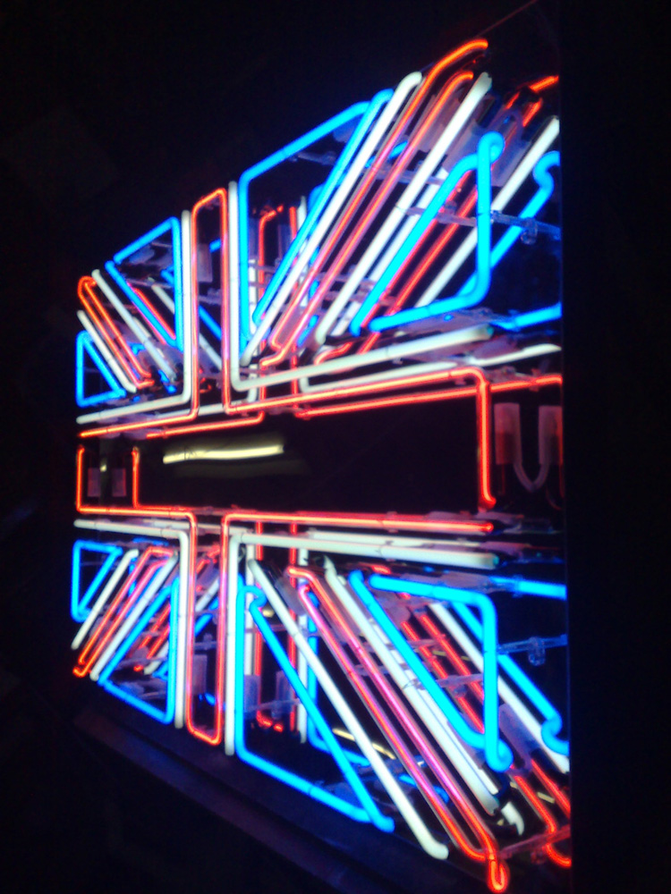 British Union Jack Neon Sign Neon1